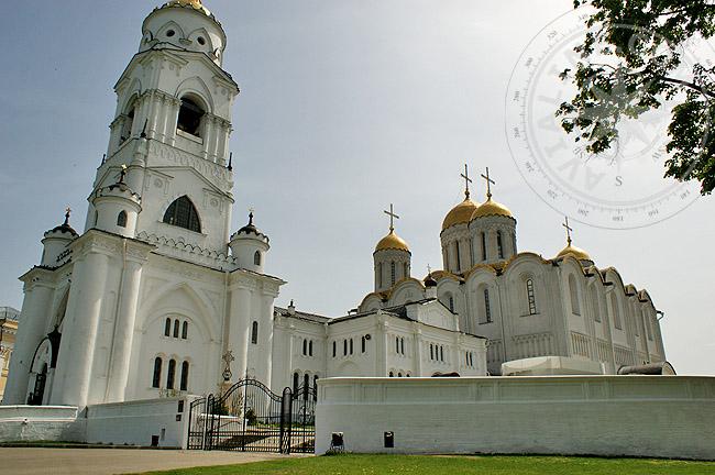 Успенский собор - храмы и церкви Владимира