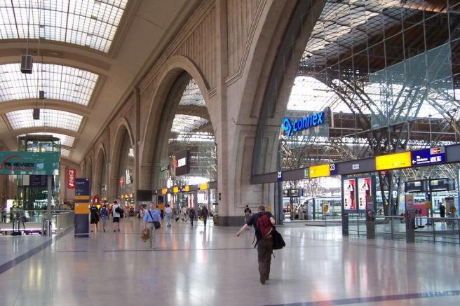 Железнодорожный вокзал Лейпцига