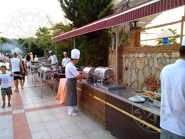Алания - барбекю - набережная