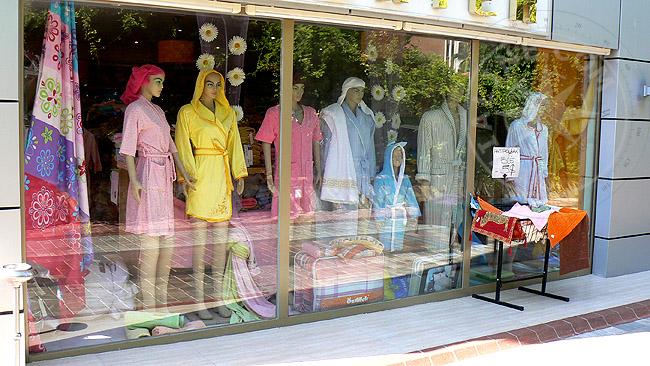 Пляжные магазины - все для отдыха в Турции