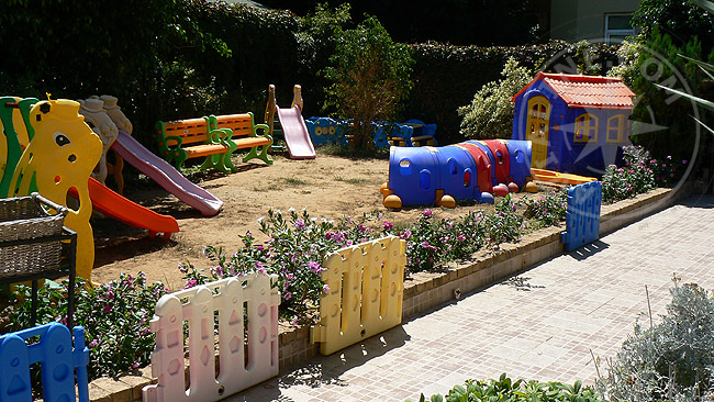 Отель - Алания - детские площадки - площадки для детей