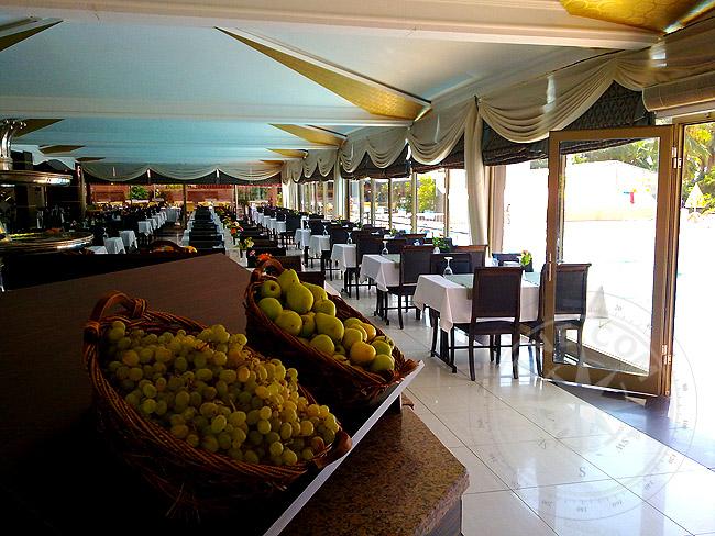 Рестораны турецких отелей
