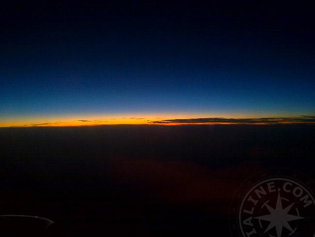 Ночь - Алания - море