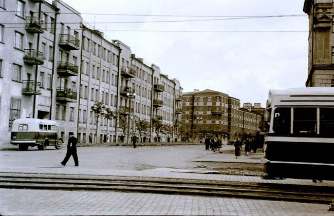 Иваново - 1962 год - трамвай