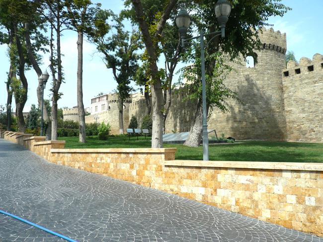Старый Баку - Дворец Ширваншахов