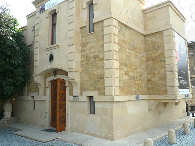 Баку - старые дома - фото